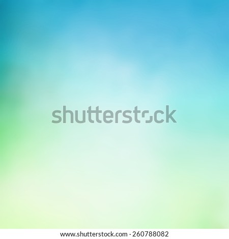 abstract pastel green blue background with blurred texture - stock photo
