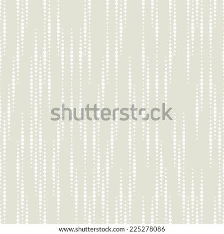 Abstract pattern of dots. Seamless gray-white background. - stock photo
