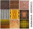 Abstract pattern Thai style  - stock photo