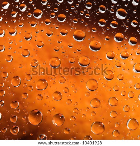 Abstract pattern with drops