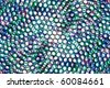 Abstract picture from multi-colored ringlets - stock photo