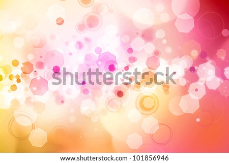 Abstract pink and orange tone background