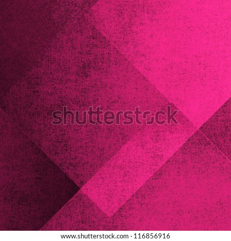 abstract pink background, black vintage grunge background texture, old distressed wallpaper layers in modern art block design layout, elegant valentines day background faded color, old pink paper - stock photo