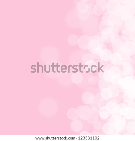 Abstract pink background for birthday card - stock photo