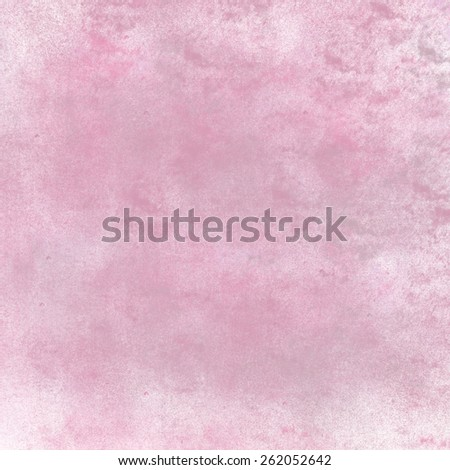 abstract pink background pastel colors, elegant feminine background for baby girl birth announcement with vintage grunge background texture pink center, pastel pink paper or parchment for brochure - stock photo