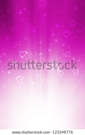 abstract pink background with heart