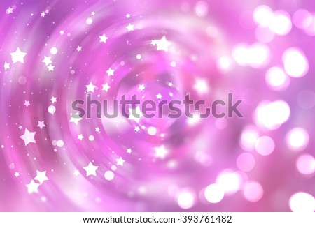 abstract pink background with scintillating circles and gloss