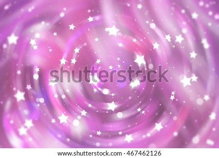abstract pink background with scintillating circles and gloss illustration beautiful.