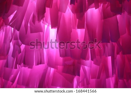 abstract pink fabric background - stock photo