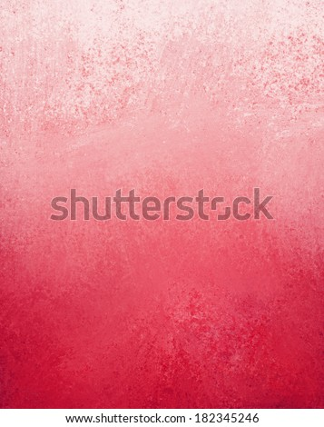 abstract pink red background paper or parchment, faded aged plain backdrop with vintage grunge background texture, gradient white to pink red color background - stock photo