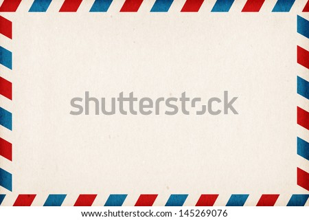 Abstract post envelope colorful background with copyspace - stock photo