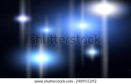 Abstract Pulsars - stock photo