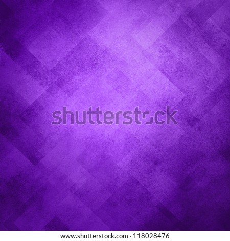abstract purple background image pattern design on old vintage grunge background texture, purple paper diagonal block pattern with geometric shapes and line design elements, soft luxury background - stock photo