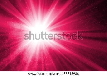 abstract purple background with ray of light - stock photo