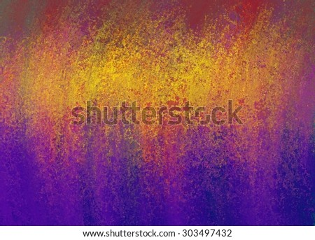 abstract purple pink and gold background with smeared grunge texture and bright gold color splash across top - stock photo