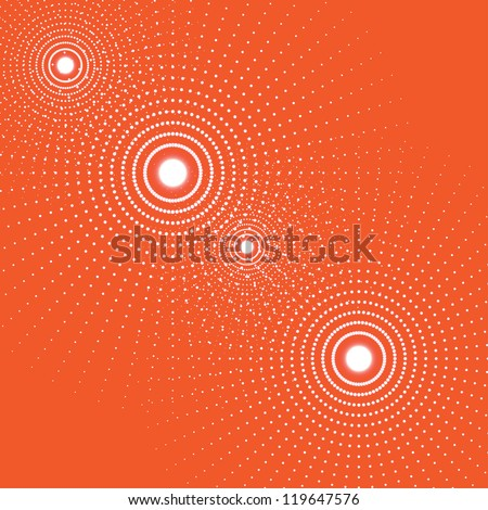 abstract radiant background. (vector version also available in my gallery) - stock photo