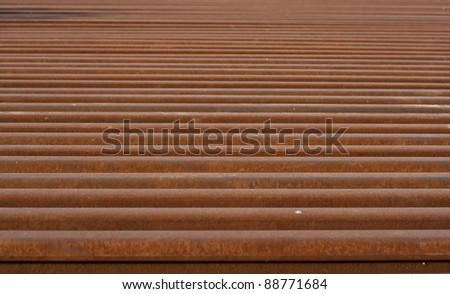 Abstract railway lines - stock photo