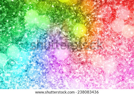 Abstract rainbow glitter background