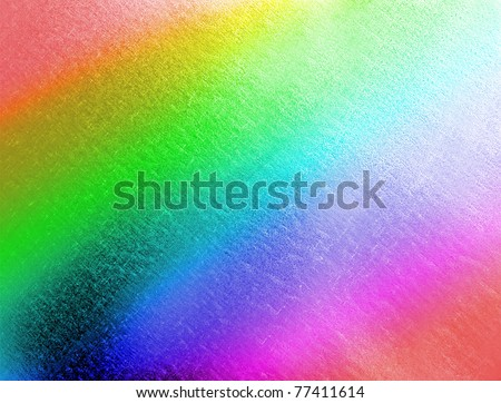 abstract rainbow metal background, texture closeup details - stock photo