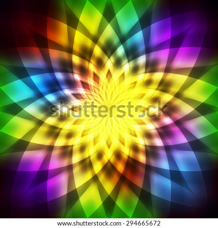Abstract rainbow neon  background