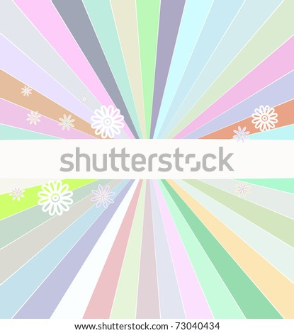 Abstract raster color cover