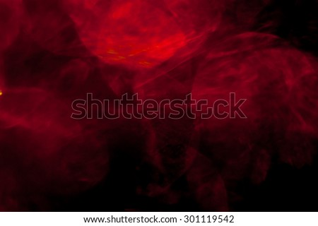 Abstract red and black background - stock photo