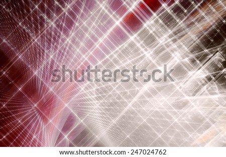 Abstract red background design - stock photo
