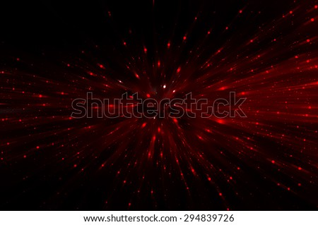 abstract red background. explosion star. - stock photo