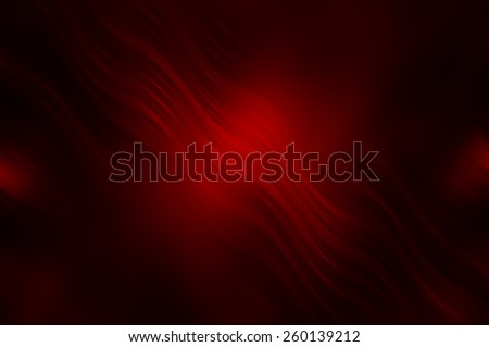Abstract red background with fractal waves - stock photo