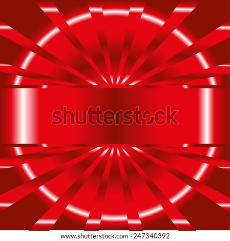 Abstract red background with place for your text  template