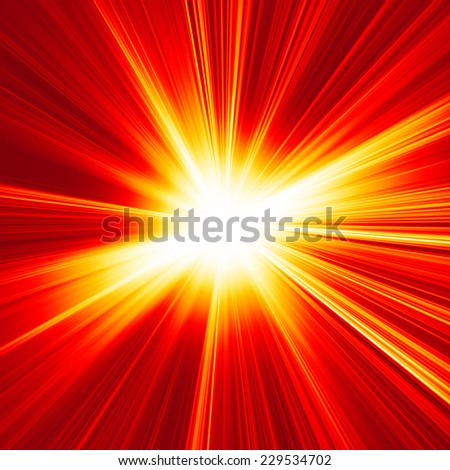 abstract red burst background
