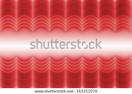 Abstract red curtain banner