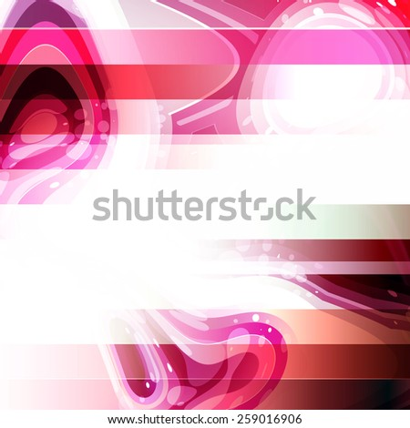 Abstract Red Modern Background