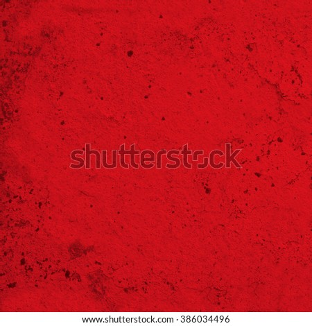 abstract red old cement texture. vintage background - stock photo