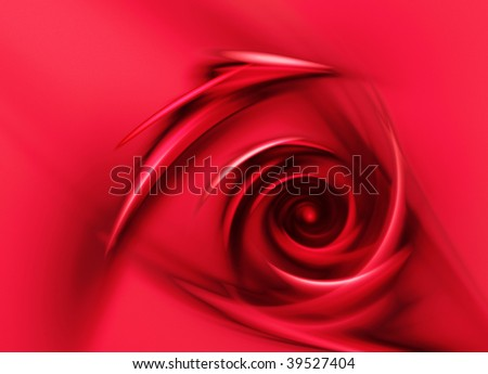 Abstract red rose digital background