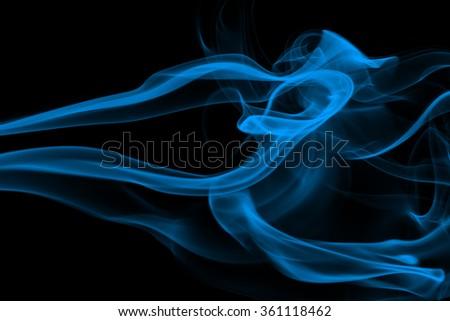 Abstract red smoke background. - stock photo