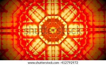 Abstract red square pattern with texture overlay