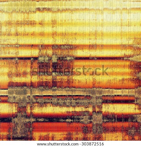 Abstract rough grunge background, colorful texture. With different color patterns: yellow (beige); brown; red (orange); gray - stock photo