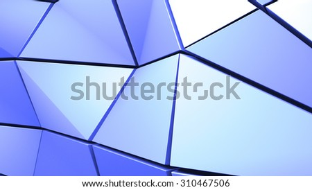 Abstract rumpled geometric background. Polygon geometric.
