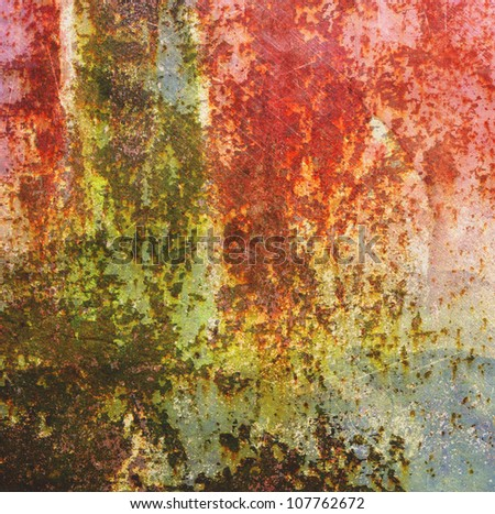 abstract rusty colored background - stock photo