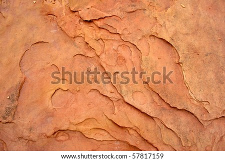 Abstract Sandstone Background - stock photo