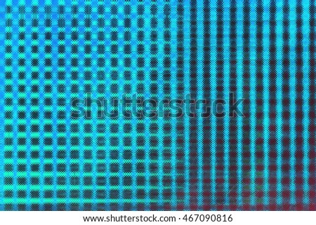 Abstract saturated full color 2D picture with noise and jagged lines