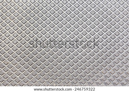 abstract seamless aluminum textured background - stock photo