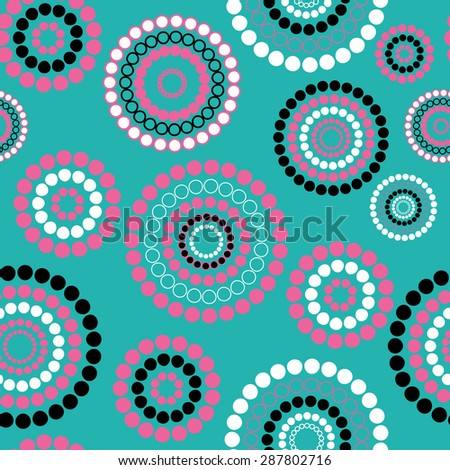 Abstract seamless background pattern.  illustration - stock photo
