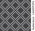 Abstract seamless geometric pattern. Monochrome texture. raster version, vector file also available in gallery - stock photo