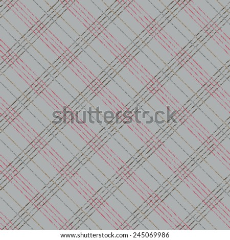 Abstract Seamless Pattern with Plaid Fabric. Simple checkered template. Brush strokes. Pattern fills. Abstract backdrop. Endless texture. Plain checkered background for decoration or backdrop. - stock photo
