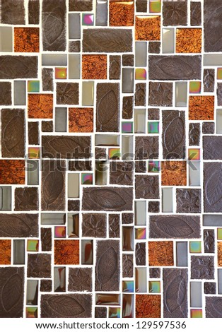 Abstract seamless square - stock photo