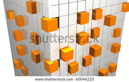 Abstract shape - stock photo
