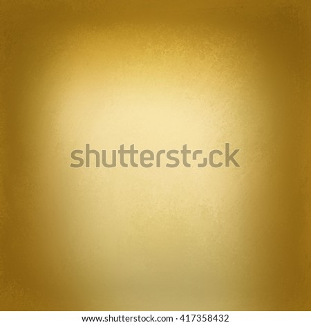 abstract shiny gold background with blurred texture, brown tinted border with soft yellow center, blurry gold background - stock photo