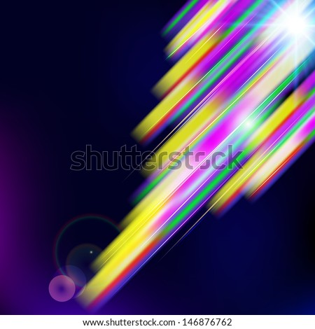 Abstract  shiny technology trendy background. Raster version - vector version in my portfolio.